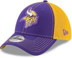 huge discount 62569 75776 New Era Adult Minnesota Vikings 39THIRTY Fan Mesh Flex-Fit Cap