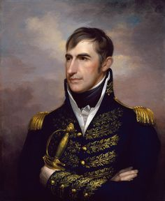 This vintage American History Painting features President William Henry Harrison. Original by Rembrandt Peale. Own a piece of American History with this digitally restored vintage poster from The War Is Hell Store. American Presidents, Us Presidents, Shawnee Indians, Blue In The Face, Presidential Portraits, William Henry Harrison, Im Blue, American Revolution, Historical Photos