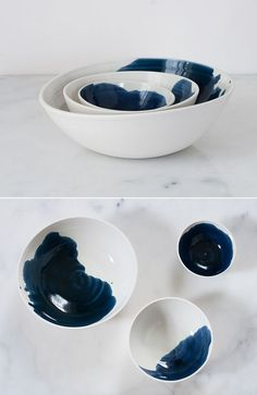 ceramics by suite one studio - more tabletop inspiration at jojotastic.com