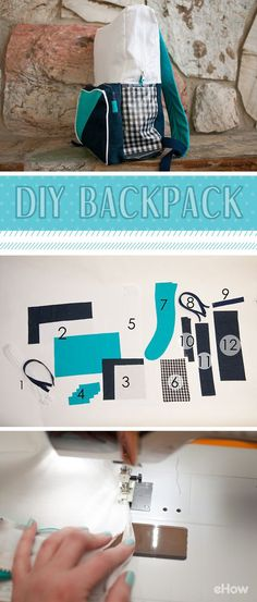 A DIY tutorial to make a one of a kind full size backpack. Perfect for school aged children and for adults.
