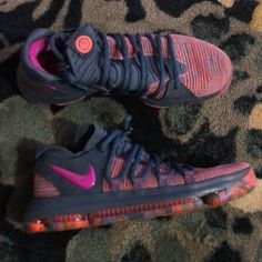online store a2770 f280c Nike Shoes   Nike Kevin Durant Basketball Shoes   Color  Gray Pink   Size   12