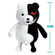 Peluche oso Monokuma Dangan Ronpa 25cm