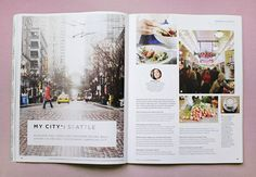 JMC 414 Magazine layout I really like that one side of the spread is an image that perfectly goes along with the topic of the story to the left, and I like how it draws the reader in.