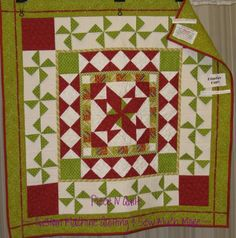 """quilt pattern round 