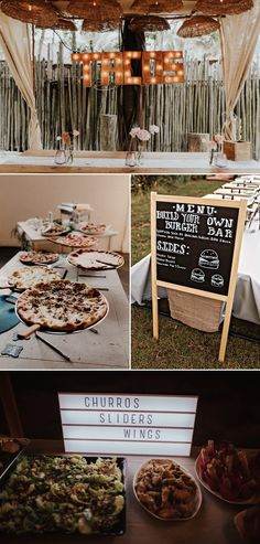 Cool Casual Wedding Ideas for Low-Key Couples – Junebug Weddings Cool Casual Wedding Ideas for Low-Key Couples Have comfort foods be apart of your wedding menu Wedding Reception Food, Wedding Dinner, Wedding Catering, Wedding Menu, Budget Wedding, Chic Wedding, Wedding Planning, Casual Wedding Receptions, Casual Wedding Decor