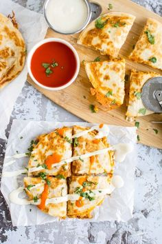 Pin for Later: 185+ Delicious Latin American Recipes You Need to Eat ASAP Buffalo Chicken Quesadillas Get the recipe: buffalo chicken quesadillas