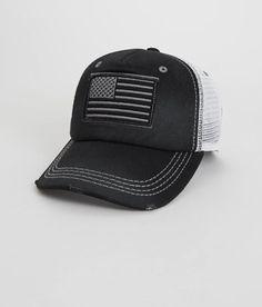 Affliction Americana Trucker Hat - Men's Accessories | Buckle