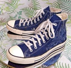 CONVERSE ALL-STAR BLUE SNEAKERS LACED SKATEBOARDING FASHION SHOES US MENS SZ 11 #Converse #CasualShoes