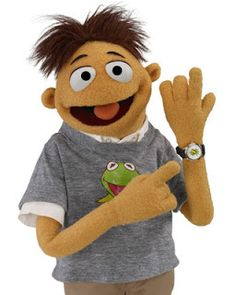 Movie Treasures By Brenda: Meet The Muppet Walter & Check Out His Kermit the Frog Watch