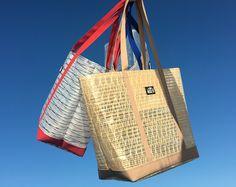 """Les cabas """"Georgette"""", des sacs dans le vent."""