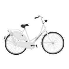 Hollandia Adult Royal Dutch 700C City Bicycle, White