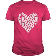 Breast Cancer Heart Ribbons - #the first tee #blue hoodie. BUY NOW => https://www.sunfrog.com/Funny/Breast-Cancer-Heart-Ribbons-Hot-Pink-Guys.html?60505