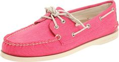 Sperry Top-sider Pink Womens Ao Boat Shoe