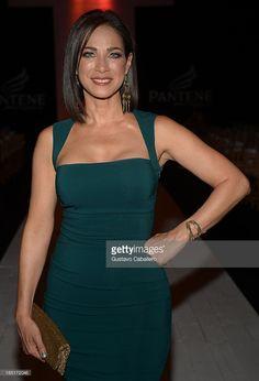Carmen Dominicci attends Funkshion Fashion Week on October 17, 2013 in Miami Beach, Florida.