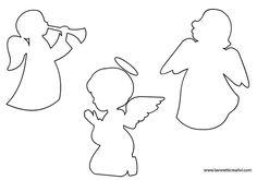 Sagome di angeli per decorazioni