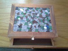 beach glass jewelry box