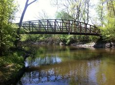 Des Plaines River Trail:Old School to Lake-Cook County Line - easy hiking trail