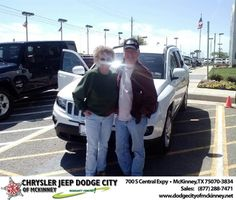#HappyAnniversary to John R Rubertus on your 2014 #Jeep #Compass from Russell Hardin  at Dodge City of McKinney!