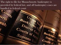 Get in touch with the Massachusetts bankruptcy lawyers if you want to deal your debt better and wish to start afresh. There are ways to figure out an experienced and qualified attorney for Massachusetts bankruptcy filing. https://www.youtube.com/watch?v=76iNqcYT-sc