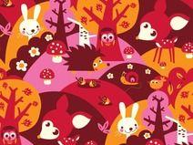 ♥ lillestoff - Bio Jersey LITTLE FOREST ♥