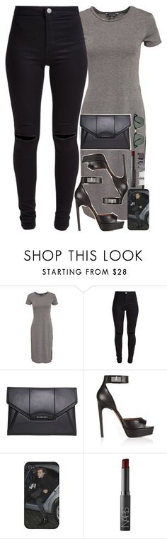 """I approve"" by daisym0nste ❤ liked on Polyvore featuring New Look, Givenchy, Luv Aj, NARS Cosmetics and Ray-Ban"