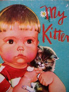 Eloise Wilkin- my kitten - little golden book