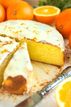 Sycylijskie ciasto pomarańczowe Cookie Recipes, Keto Recipes, Dessert Recipes, Cheesecake Pops, Pavlova, No Bake Cake, Love Food, Food Photography, Food Porn