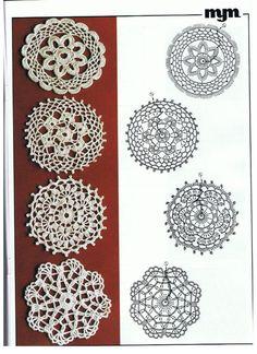 Captivating Crochet a Bodycon Dress Top Ideas. Dazzling Crochet a Bodycon Dress Top Ideas. Crochet Diy, Mandala Au Crochet, Crochet Vintage, Crochet Diagram, Crochet Stitches Patterns, Crochet Round, Crochet Squares, Crochet Chart, Thread Crochet