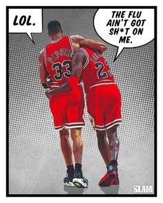 "1,705 Likes, 6 Comments - SLAM (@slamonline) on Instagram: ""A career filled with legendary moments. Happy Birthday, Michael Jordan!"""