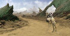 Through the Desert by ArgyraChersonese.deviantart.com on @deviantART