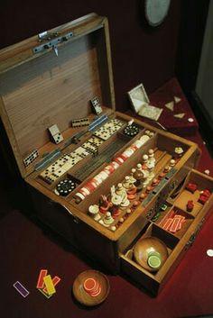 """The Romanov children's domino set. """"AL"""""""