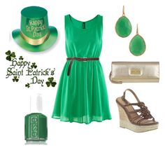 """""""St. Patties Day!"""" by sbigg11 ❤ liked on Polyvore featuring H&M, Guide London, Monday, MIA, Bruuns Bazaar, Stella & Dot, women's clothing, women, female and woman"""