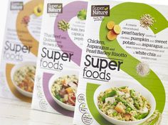 Super Nature's Frozen Food Packaging Looks Vibrant and Healthy #healthy #packaging trendhunter.com