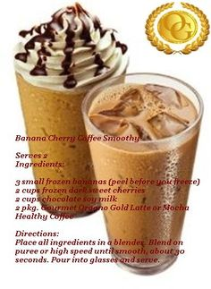 Organo Gold Banana Cherry Coffee