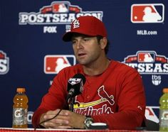 Oh Matheny, your a rookie & you are leading your team to 12 in 12.. well I'll give you a high five!! (:
