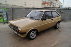 Ford Fiesta of the past. My how times and this car have changed!