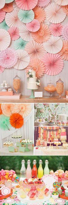 Mesas de Postres para bodas por estilos: Ideas para ayudaros a encontrar el estilo perfecto para vuestra mesa de postres soñada.