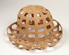 Woman's hat | Designer: James Galanos | United States, circa 1990 | Material: straw | Los Angeles County Museum of Art, LACMA