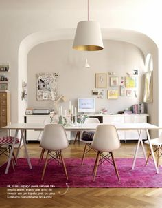 glam space by Holly Becker #decor #decor8 #homeoffice