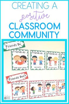 How to create a positive classroom community