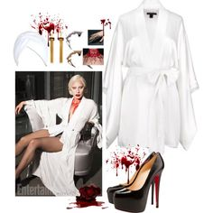countess elizabeth bathory ahs hotel by abbey jp on polyvore featuring christian louboutin - Christian Halloween Stories