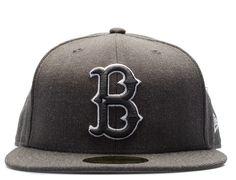 45da0041996c9 Custom Brooklyn Dodgers Dark Grey 59Fifty Fitted Baseball Cap by NEW ERA x  MLB