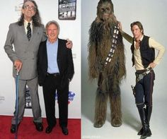 I knew chewy was a pimp, that's what the millennium was smuggling, slave girls