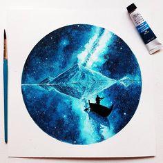 "12.3k Likes, 114 Comments - Watercolor illustrations  (@watercolor.illustrations) on Instagram: "" Watercolorist: @prak3rsh #waterblog #акварель #aquarelle #painting #drawing #art #artist…"""