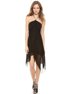 38e781ceb Black Spaghetti Strap Backless Dress
