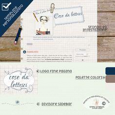 """Online il nuovo template per """"Cose da lettrici"""" ~ Grafic Scribbles"""