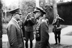 Many Hitler biographies make the erroneous claim that Hoffmann was the only man allowed to photograph Hitler. A cursory examination of Hitler photos shows this to be a canard.