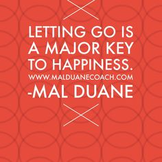 The power of letting go!