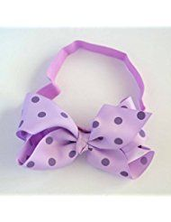 Chicky Chicky Bling Bling Girls Lavendar Polka Dot Chunky... * This is an Amazon Affiliate link. For more information, visit image link.