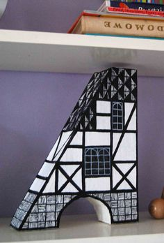 How a cAstle became a Paper art. Paper Art, Castle, Stairs, Illustration, House, Home Decor, Stairways, Papercraft, Ladder